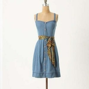 Anthropologie Pilcro and the Letterpress Dress